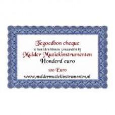 Waardebon 100,00 te besteden bij Mulder Muziekinstrumenten