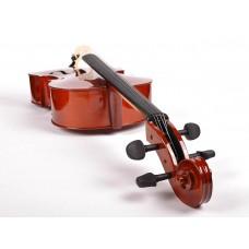 Cello 4/4, gelamineerde body, nitro, palissander toets en stemsleutels, draagtas, strijkstok en Europese snaren!